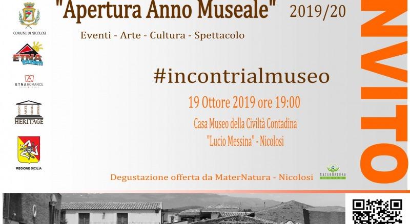 etna romance eventi Apertura Anno Museale 2019 2020